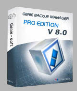 Genie Backup Manager Professional V8