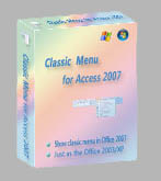 Classic Menu for Access