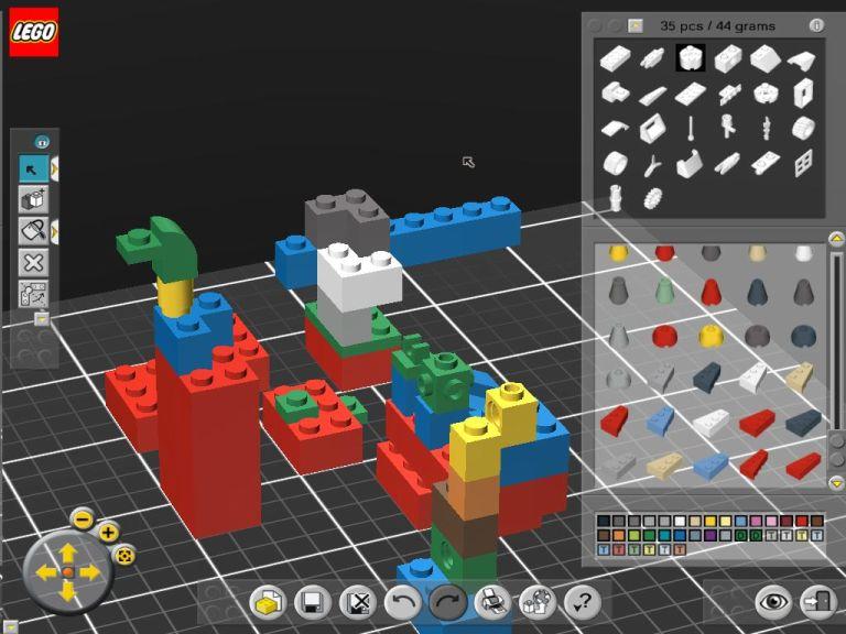 Lego Digital Designer Program Windows 12266 Pictures to pin on ...