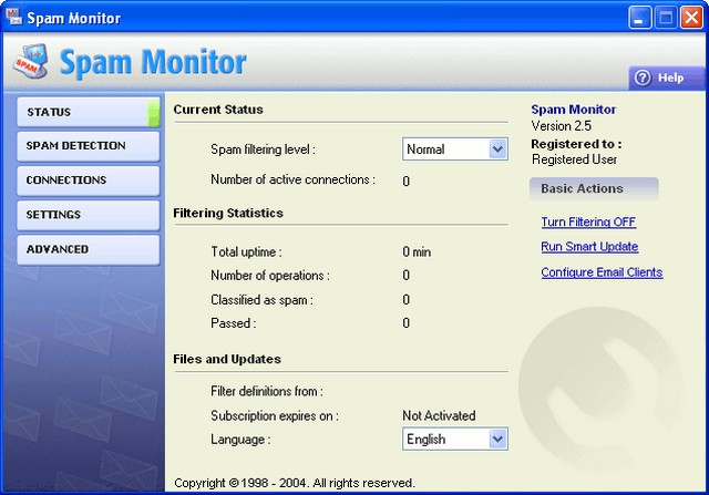 Program Spam Monitor 1