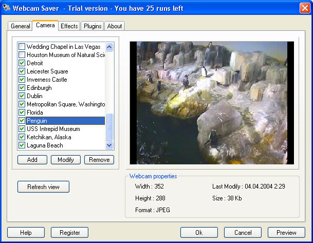 Program Webcam Saver 1