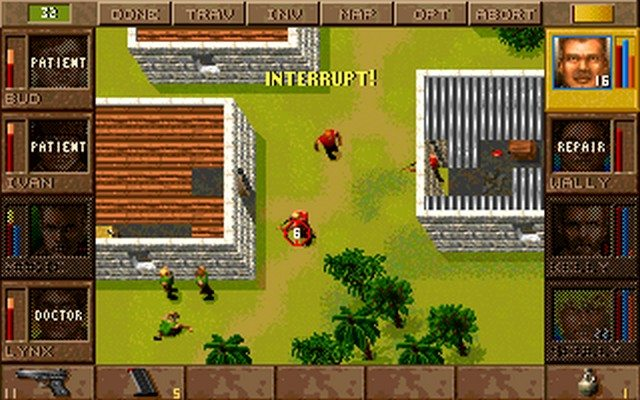 Gra Jagged Alliance 1