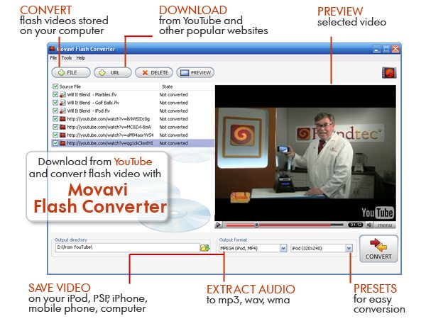 Program Movavi Flash Converter - Personal 1