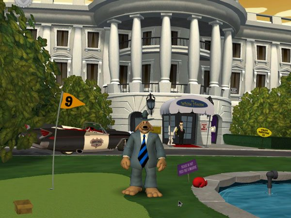 Gra Sam & Max - Abe Lincoln Must Die 3