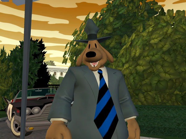 Gra Sam & Max - Abe Lincoln Must Die 4