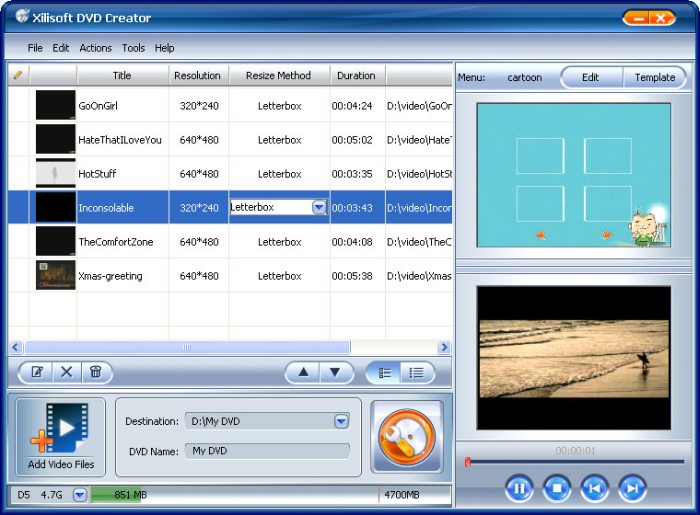 Program Xilisoft DVD Maker Suite 1