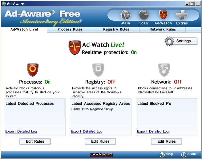 Program Ad-Aware Free 1