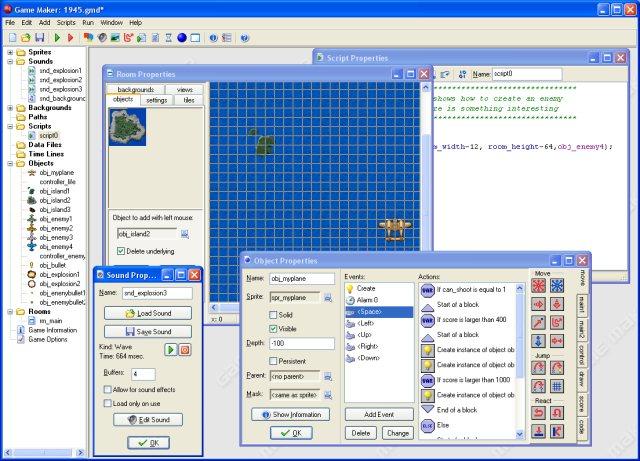 Risultati immagini per game maker 4.3