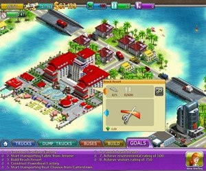 Gra Virtual City 2 Paradise Resort 3