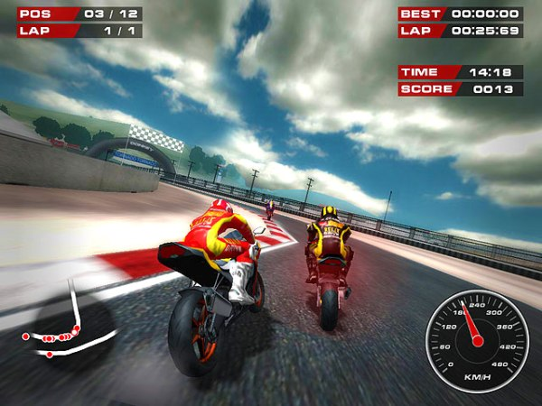 Gra Superbike Racers 2