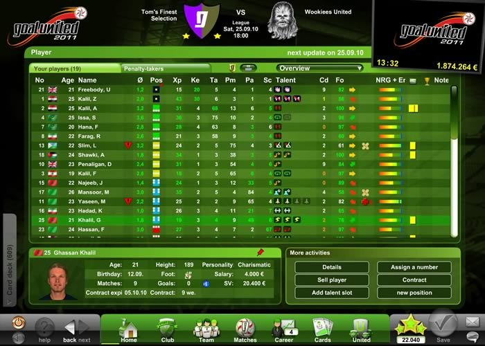 Gra Goalunited 1