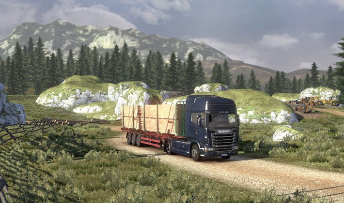 Gra Scania Truck Driving Simulation 4