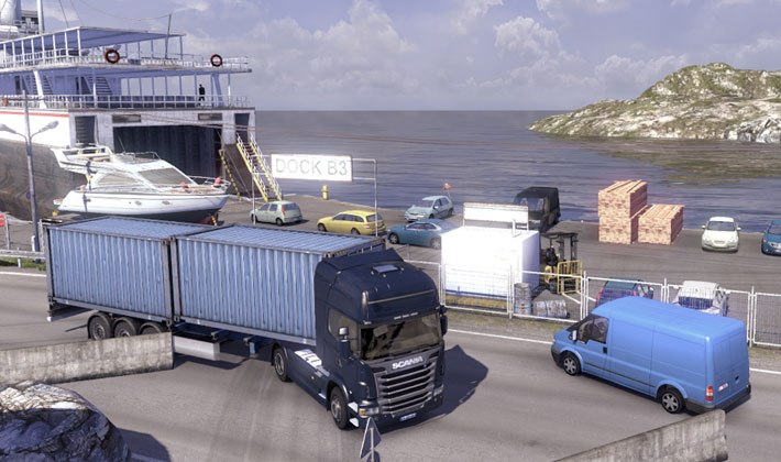 Gra Scania Truck Driving Simulation 3