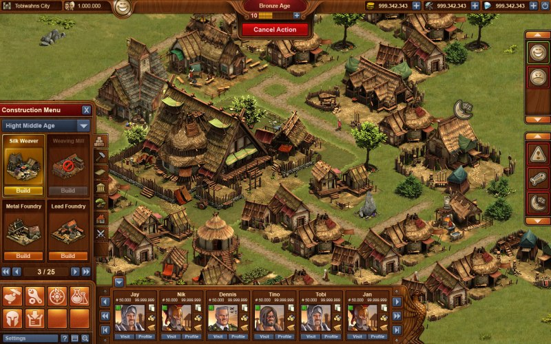 Gra Forge Of Empires 4