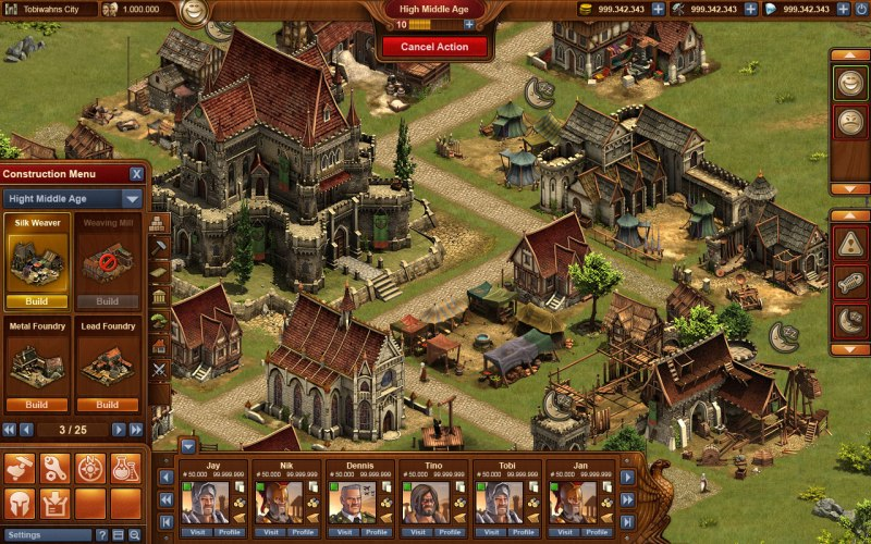 Gra Forge Of Empires 3