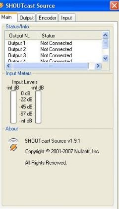 Program Shoutcast Radio DSP 2
