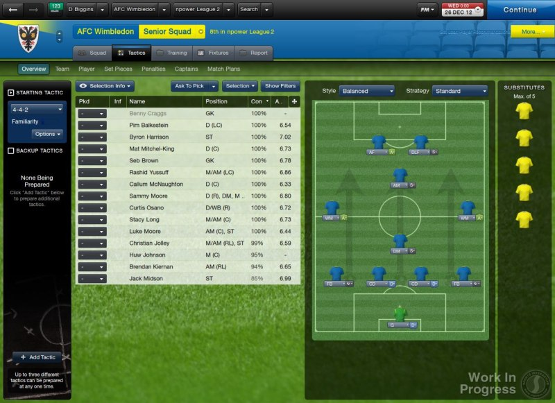 Gra Football Manager 2013 1