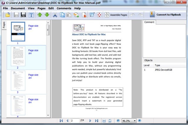 Program 3DPageFlip PDF Editor 2