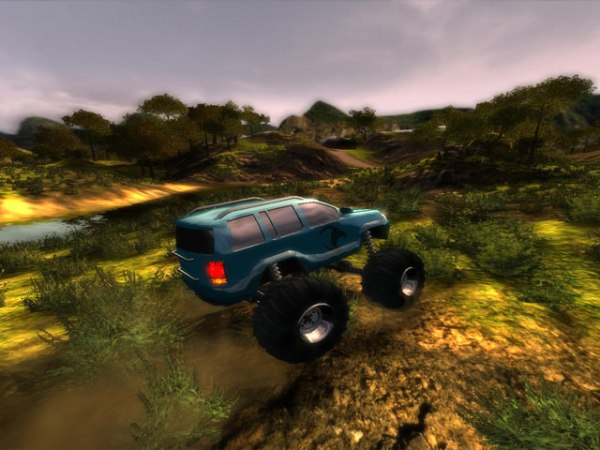 Gra Bigfoot 4X4 Challenge 3