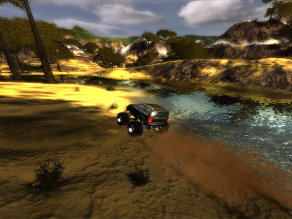 Gra Bigfoot 4X4 Challenge 2