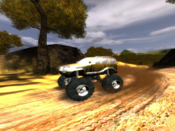 Gra Bigfoot 4X4 Challenge 1