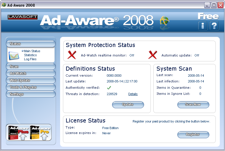 Program Ad Aware 3