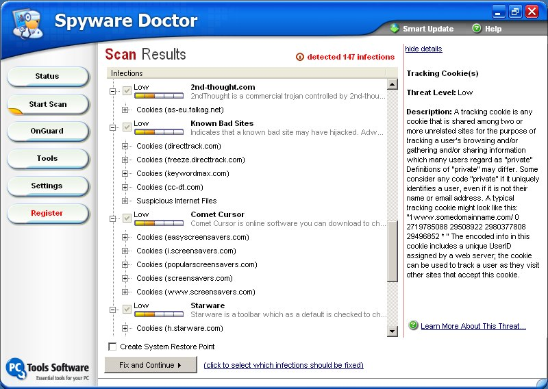 Program Spyware Doctor 1