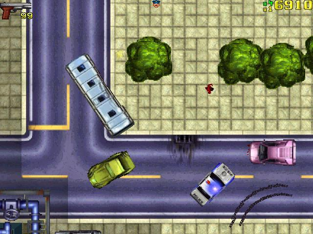 Gra Grand Theft Auto (GTA) 2