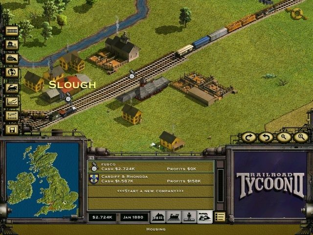 Gra RailRoad Tycoon 2