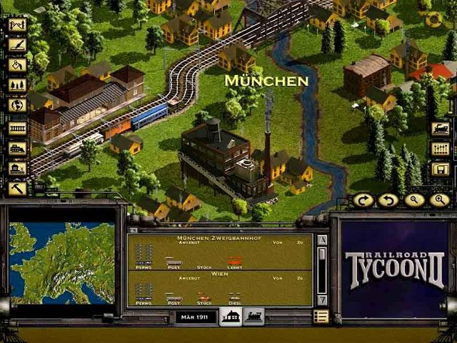 Gra RailRoad Tycoon 1